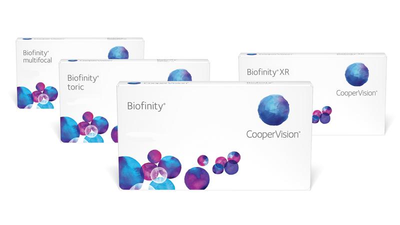 Biofinity familie